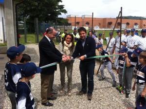 inaugurazione baseball