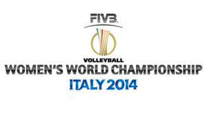 logo mondiali volley femminile italia 2014
