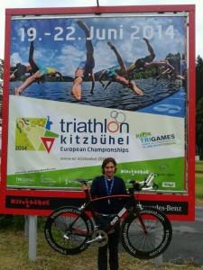 Europei di Triathlon in Austria Andrenucci