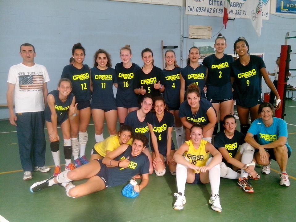 Orago Under 18 finale nazionali 2014