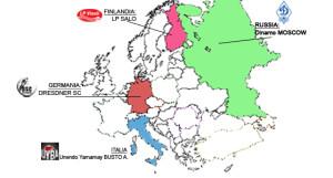 europa volley cartina girone 14-15