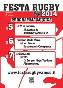 musica festa rugby 2014