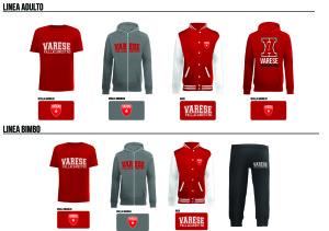 Merchandising Pallacanestro Varese 2014-2015