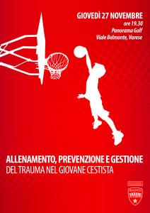 Allenamento, prevenzione e gestione del trauma nel giovane cestista