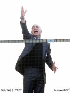 15 gennaio 2011 Varese - Torino: Sannino si staglia nel cielo