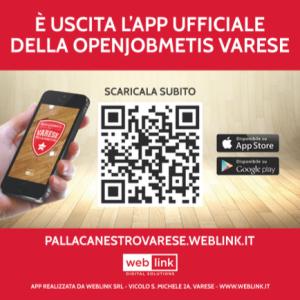 Applicazione Pallacanestro Varese