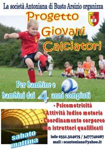 antoniana progetto giovani calciatori