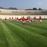 Varese allenamento