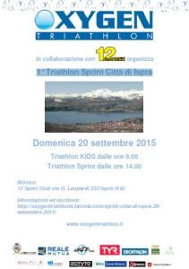 Oxygen Triathlon 1 triathlon sprint 2015
