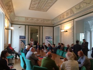 conferenza stampa World Rowing Tour