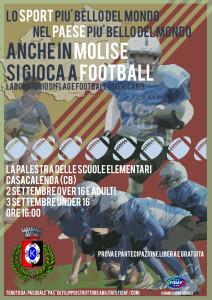 locandina football molise de filippo