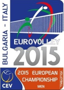 logo europei volley maschile 2015