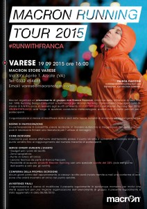 macron running tour 2015