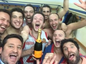 Castronno selfie vittoria c2 basket