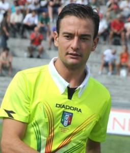 Andrea Giuseppe Zanonato arbitro