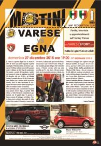 Mastini Egna match program