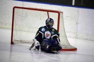 Santino Stillitano sledge hockey