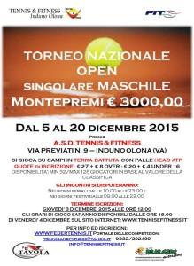 torneo tennis induno olona dicembre 2015