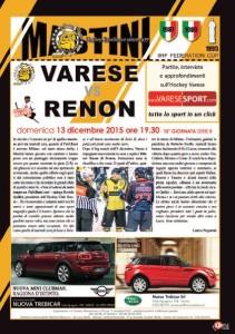 Varese - Renon copertina