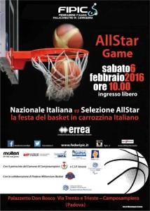 all star game basket in carrozzina 2016 locandina