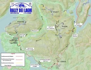 cartina rally dei laghi 2016
