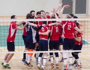 Cus Insubria esulta b2 maschile volley by gianluigi rossi