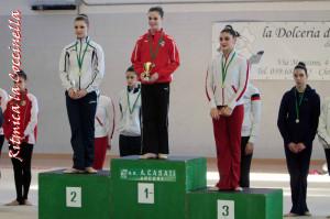 Gladia Milanesi terza podio la Coccinella 2016