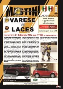 Varese Mastini - Laces copertina