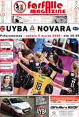 copertina UYBA-novara