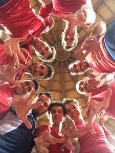 Cus Insubria post vittoria a Cuneo 15-16