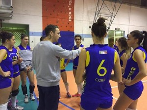 Mazza e B1 orago volley 15-16