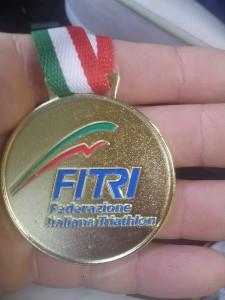 medaglia oxygen triathlon 2016