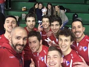 selfie vittoria cus insubria volley b2