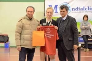 Sofia Monza UYBA under 16 migliore palleggiatrice 2016