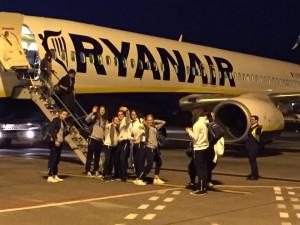 Orago trasferta a Cagliari aereo