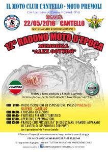 Raduno moto d'epoca cantello 2016 locandina