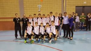 Yaka volley malnate under 14 campione regionale 2016