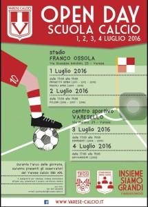 open day va calcio