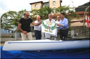 La Canottieri Luino battezza MPV il nuovo doppio Coastal Rowing 1
