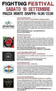 Varese Fighting Festival 2016 varese locandina