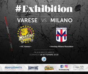 Varese-Milano locandina amichevole