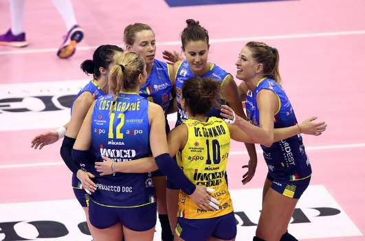 Final Four di Champions League al PalaVerde di Treviso, Conegliano in semifinale