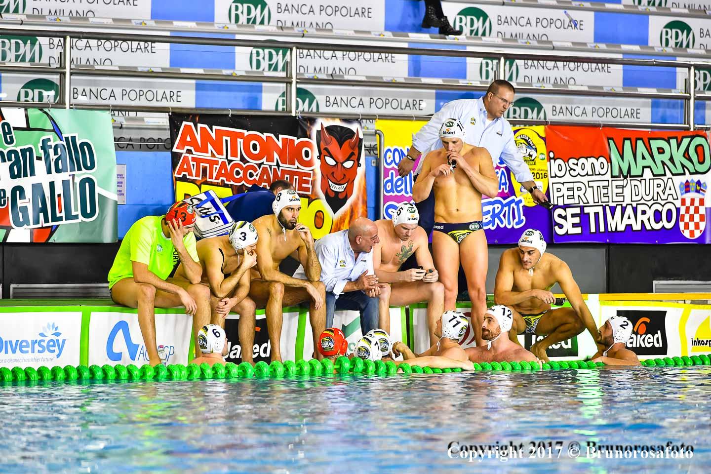 Big match alla Manara: la BPM Sport Management sfida i campioni d'Italia della Pro Recco