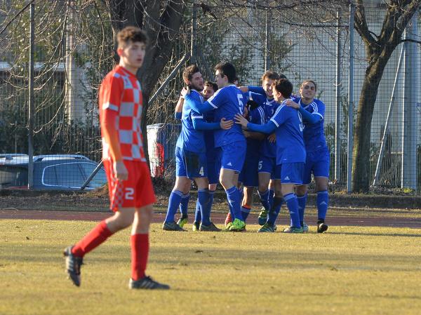 Palese gol, tre punti d'oro per la Besnatese – FOTO