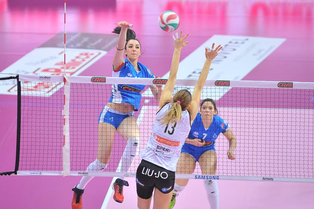 Il Club Italia CRAI si inchina al fotofinish contro Modena