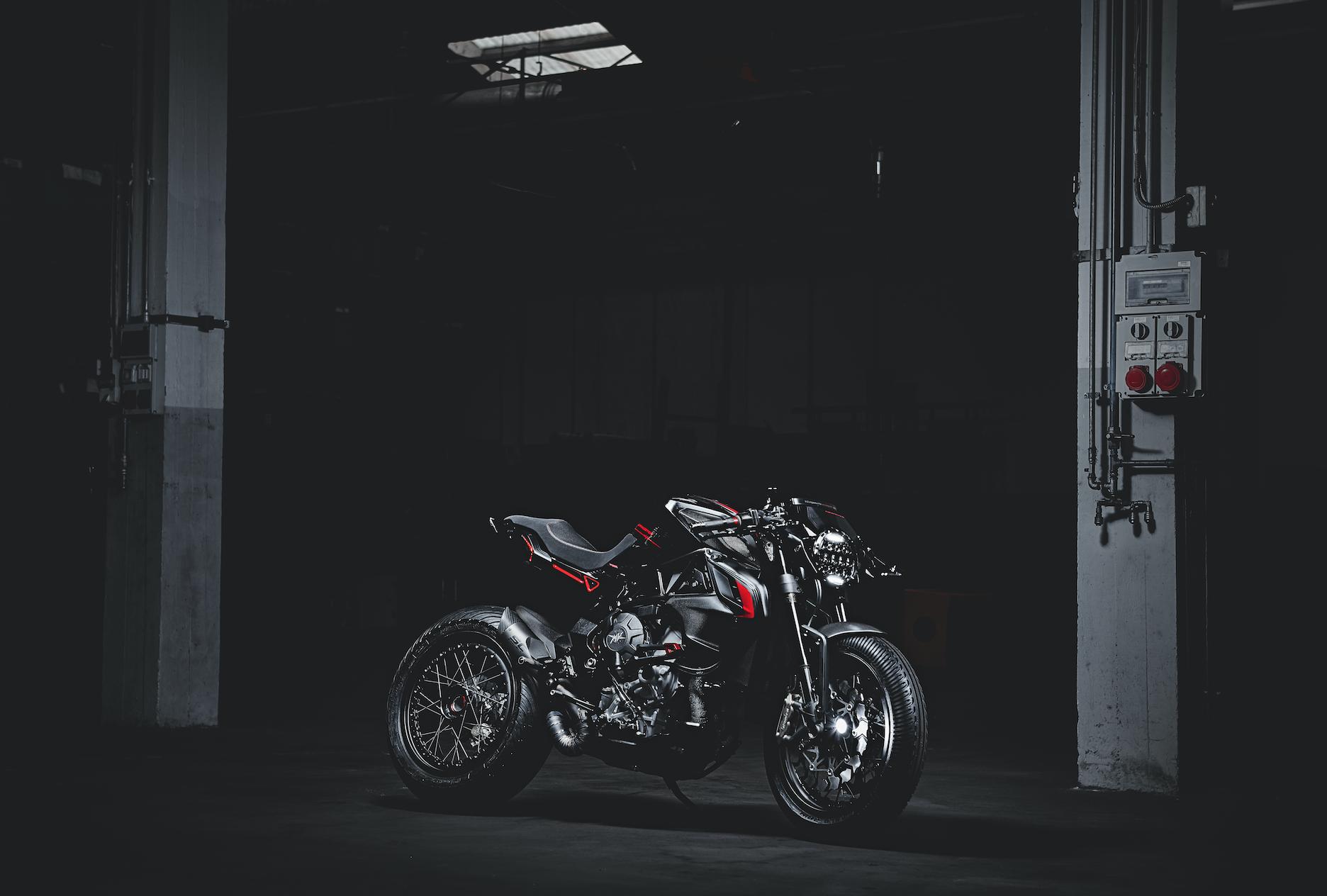 MV Agusta al Motor Bike Expo con due special estreme