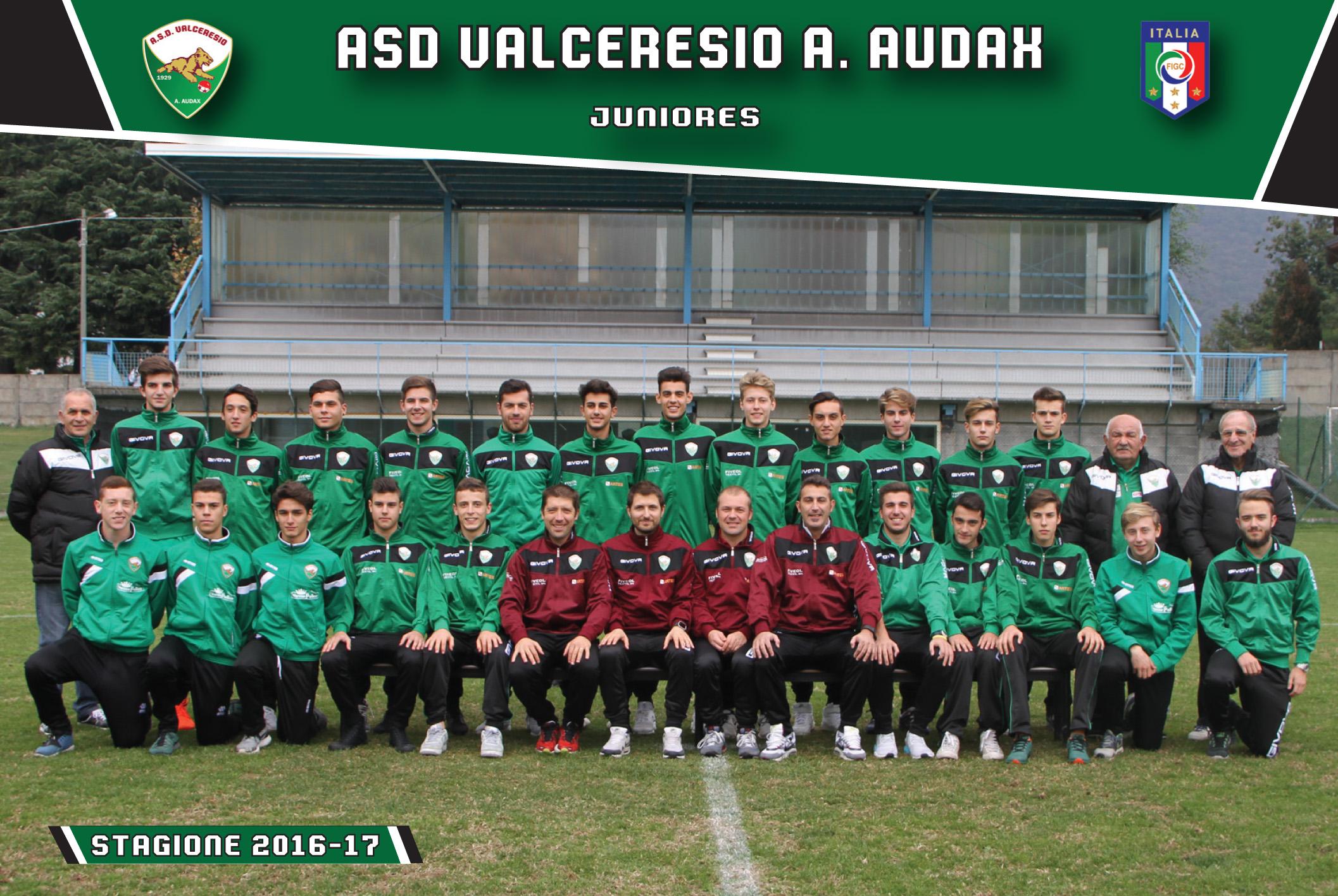 ASD Valceresio – Juniores forza 6. Allievi due punti persi