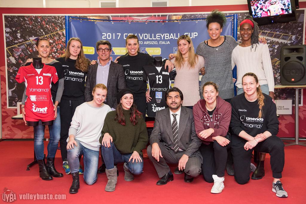 UYBA europea con due sponsor d'eccezione