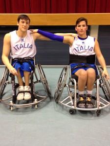 Basket in Carrozzina Nava Segreto U22