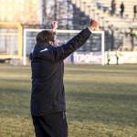 08-01-2017 Busto Arsizio (VA)Campionato Dilettanti 2016/17 Gir BPRO PATRIA – VIRTUS BERGAMO Nella foto: esulta mr scandroglio